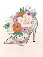 Floral Bloom Heel