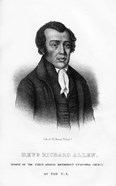 Richard Allen, African American founder of the African Methodist Episcopal Church, (1854)