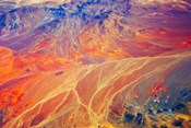 Land Pattern on Atacama Desert, Chile