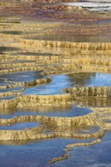 Mineral Deposit Formation, Yellowstone National Park