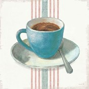 Wake Me Up Coffee IV Blue with Stripes No Cookie