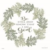 Be Still Wreath