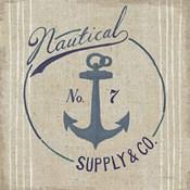 Floursack Nautical IX Burlap