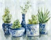 Chinoiserie Plants Bright