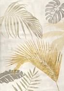Palm Leaves Gold II