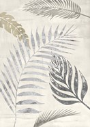 Palm Leaves Silver I