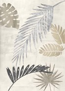Palm Leaves Silver III