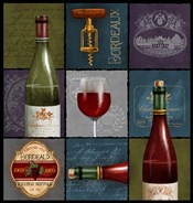 Wine Collage Box