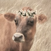 Floral Cow II