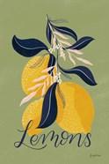 Lemons I Green