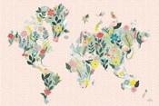 Wild Garden World Blush
