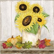 Fall Sunflowers I