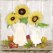 Fall Sunflowers IV
