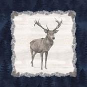 Blue Cliff Mountains II-Deer