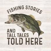 Less Talk More Fishing I-Tall Tales