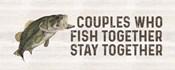 Less Talk More Fishing panel V-Together