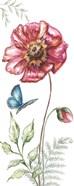 Wildflower Stem panel I
