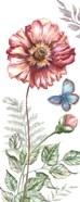 Wildflower Stem panel II