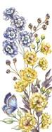Wildflower Stem panel VI