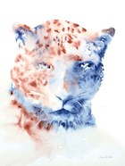 Copper and Blue Cheetah