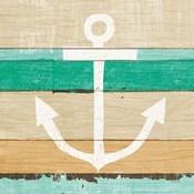 Beachscape III Anchor Green
