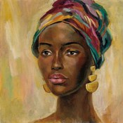 African Face II