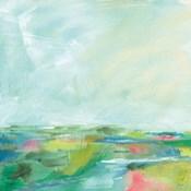 Colorful Horizon Square I