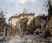 The Door of Cordelieres and the Castle, 1891