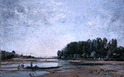 Fishing Boats on the Loire, 1865
