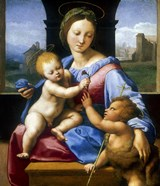 The Madonna and Child with the Infant Baptist (The Garvagh Madonna), c1509-1510