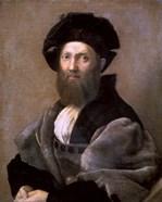 Portrait of Baldassare Castiglione, 1514-1515