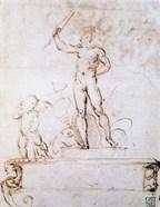 Outline Composition for a Decoration of a Festival, c1500-1520