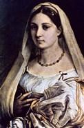 Woman with a Veil (La Donna Velata), 1512/13
