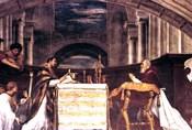 The Mass at Bolsena detail, 1512