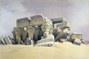 Ruins of the Temple of Kom Ombo, 19th century