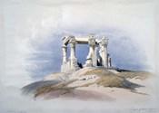 Temple of Wady Kardassy, Nubia, 19th century