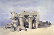 Temple of Sobek and Haroeris at Kom Ombo, 19th century
