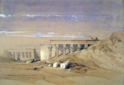 Lateral View of the Temple called Typhonaeum at Dendera, Egypt, 19th century
