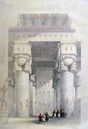 Portico of the Temple of Dendera, 19th century
