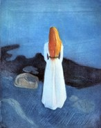 Young woman on the Seashore, 1896