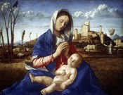 The Madonna of the Meadow, c1500
