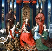 Triptych of St John the Baptist and St John the Evangelist, 1479