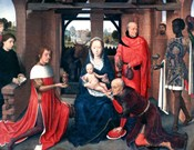 Adoration of the Magi, Triptych, Central Panel, c1453-1494