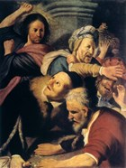 Christ Drives the Money-Changers from the Temple, 1626