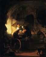 Tobias Returns Sight to His Father, 1636