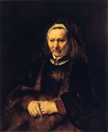 Portrait of an Old Woman, 17th century