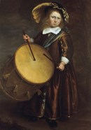 Boy with Drum, 17th century