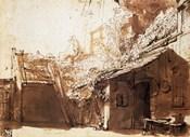 Dutch Peasant House, 17th century