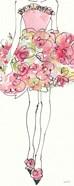 Floral Fashion Shoulders I Pink