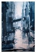 Crosby Street from Spring, rain